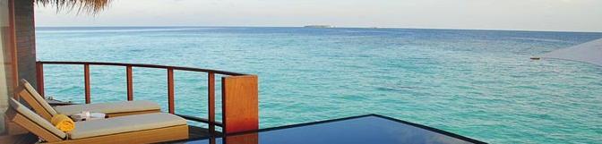 Découvrez l'île-hôtel d'Halaveli aux Maldives
