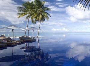 Conrad-Maldives villas sur l'eau